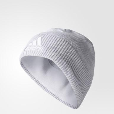 белый Шапка-бини adidas Z.N.E. Climawarm