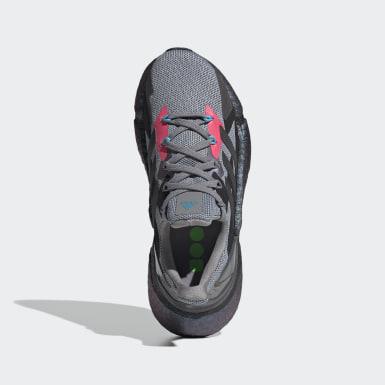 เด็ก วิ่ง สีเทา รองเท้าวิ่ง X9000L4