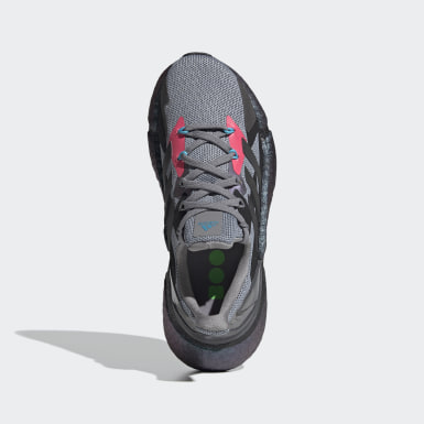 Youth Running Grey X9000L4 Running Shoes