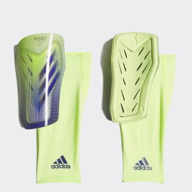 Fußball X 20 Pro Schienbeinschoner Grün