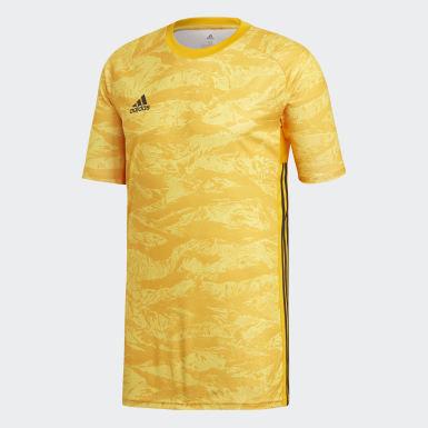 Camiseta de Arquero AdiPro 19 Amarillo Hombre Fútbol