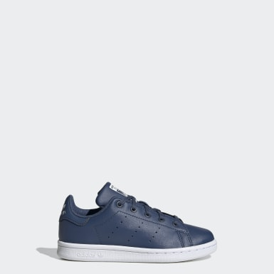 Kids 4-8 Years Originals Blue Stan Smith Shoes