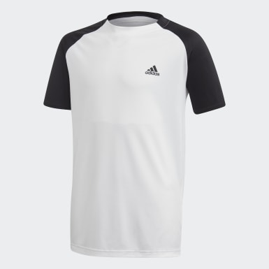 Genç Tenis Beyaz Club Tişört