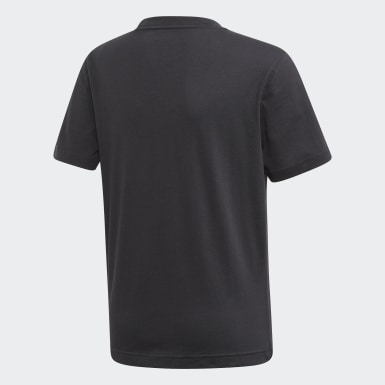 Jongens Training Zwart Tasto T-shirt