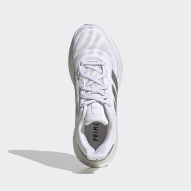 Youth 8-16 Years Running White Supernova Running Shoes
