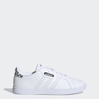 Women Sport Inspired White Courtpoint CL X Shoes