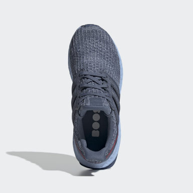 Kids Running Blue Ultraboost Shoes