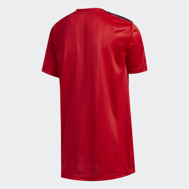 Youth Training Red Stripe Tee