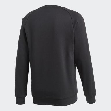 Sweatshirt Core 18 Preto Homem Treino