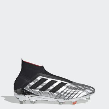 серебряный Футбольные бутсы Predator 19+ FG
