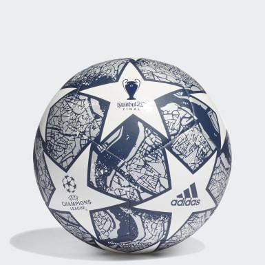 Men Football White UCL Finale Istanbul Club Ball