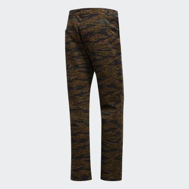 Erkek Originals Yeşil Camouflage Chino Pantolon