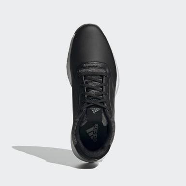 Golf S2G Spikeless Leather Golfschuh Schwarz