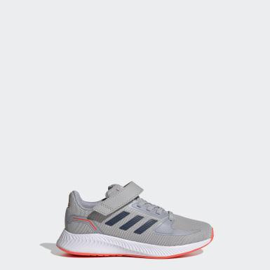 Kids 4-8 Years Running Grey Runfalcon 2.0 Shoes