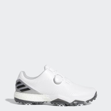 Men Golf White Adipower 4orged Boa Shoes