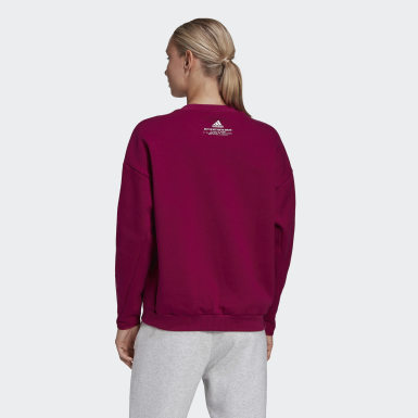 Dam Athletics Lila adidas Z.N.E. Sweatshirt