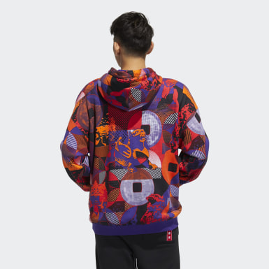 Men's Originals Purple CNY Hoodie