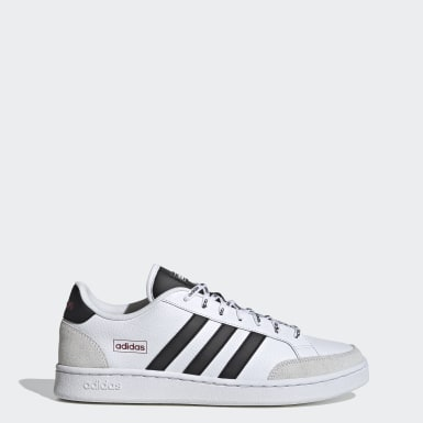 Men Sport Inspired White Grand Court SE Shoes