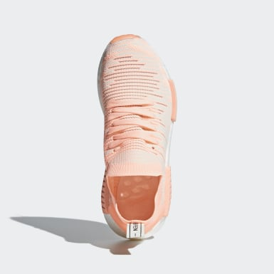 Women Originals Pink NMD_R1 STLT Primeknit Shoes