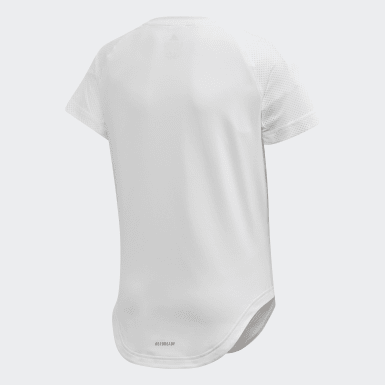 T-shirt Bold Blanc Filles Yoga