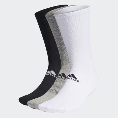 Muži Golf šedá Ponožky Crew – 3 páry