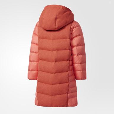 оранжевый Куртка Down