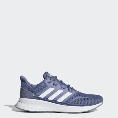 Dam Löpning Blå Runfalcon Shoes