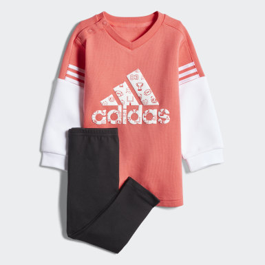 Kids Training Red Crew Set