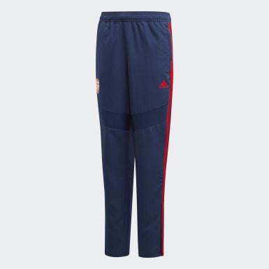 Děti Fotbal modrá Kalhoty Arsenal Presentation