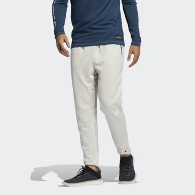 Men's Training Beige Studio Tech Pants