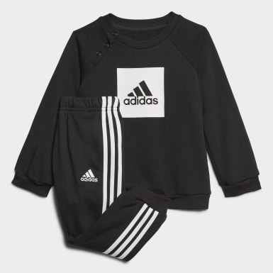 Ensemble bébés 3-Stripes Logo Noir Enfants Training
