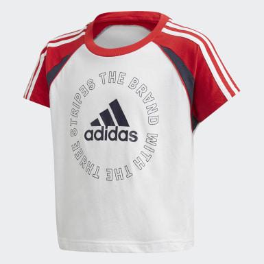 Camiseta Bold Blanco Niña Training