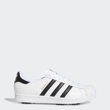 Sapatos de Golfe com Bicos Superstar Branco Golfe