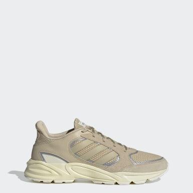 Men Running Beige 90s Valasion Shoes