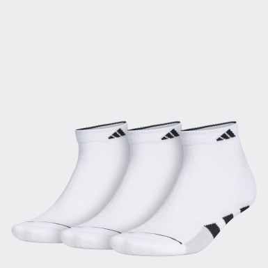 Men's Training White Cushioned 2.0 Low-Cut Socks 3 Pairs