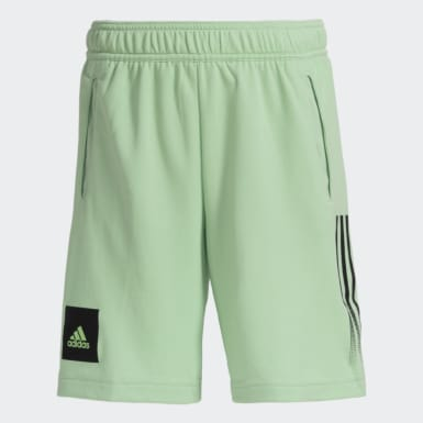 Boys Yoga Green AEROREADY Shorts