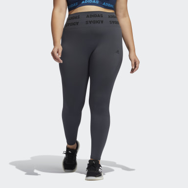 Tight Training Aeroknit 7/8 High-Rise (Grandes tailles) gris Femmes Yoga