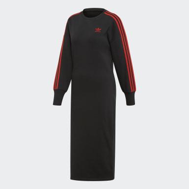 Women Originals Black V-Day Dress