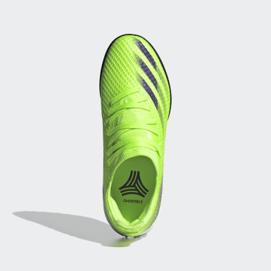 Børn Fodbold Grøn X Ghosted.3 Turf støvler