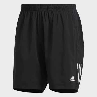 Men Running Black Own the Run Shorts