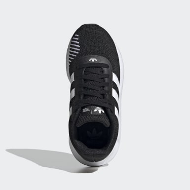 Tenis Swift Run RF Negro Niño Originals