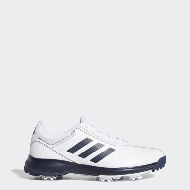 Men Golf White Traxion Lite Shoes