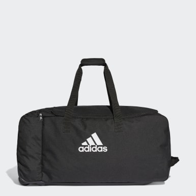 Træning Sort Tiro Wheeled sportstaske, extra large