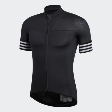 Männer Radfahren Adistar Trikot Schwarz