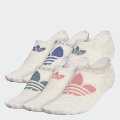 Women Originals Multicolor Trefoil Superlite Super-No-Show Socks 6 Pairs