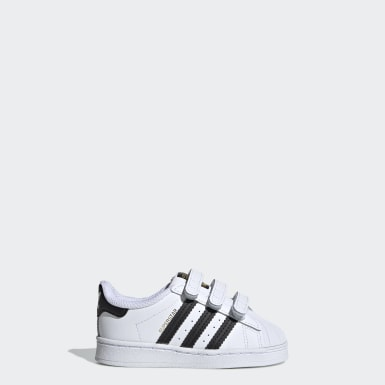 Toddlers 1-4 Years Originals White Superstar Shoes