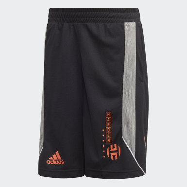 Kids Basketball Black Harden Geek Up Shorts