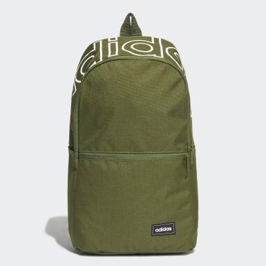 ไลฟ์สไตล์ สีเขียว กระเป๋าเป้ Classic Daily