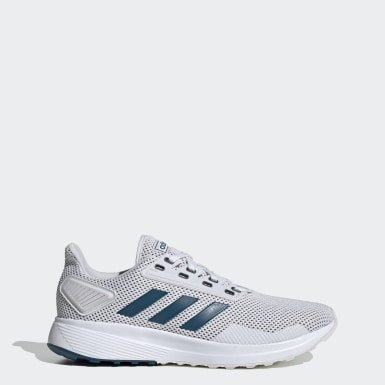 Men Running Grey Duramo 9 Shoes