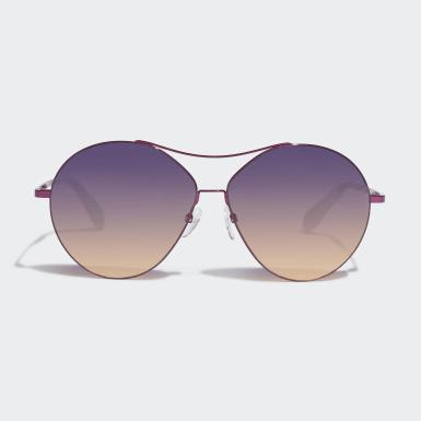 Volný Čas nachová Sluneční brýle Originals OR0001